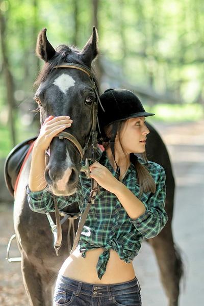 Уроки верховой езды в Воеводино