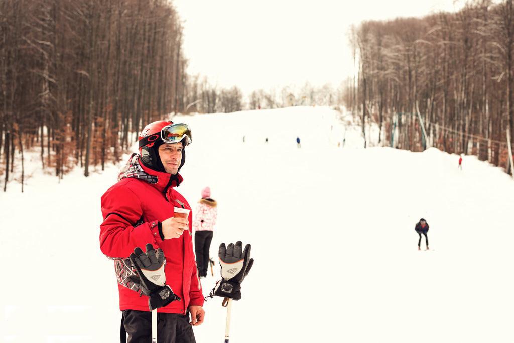 """Ski slope ~ Resort """"Voevodino"""", Carpathians, Transcarpathia, (voevodyno.com)"""