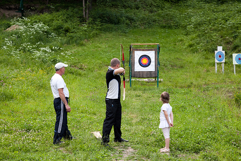 "Archery ~ (photo 4) ~ Resort ""Voevodino"", Carpathians, Transcarpathia, (voevodyno.com)"