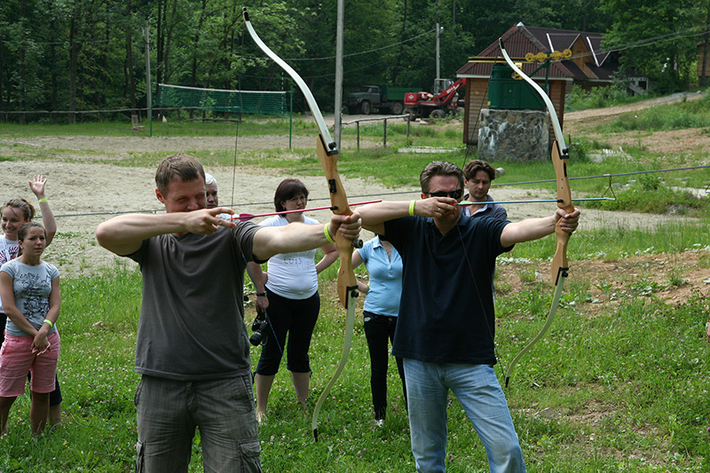 "Archery ~ (photo 2) ~ Resort ""Voevodino"", Carpathians, Transcarpathia, (voevodyno.com)"