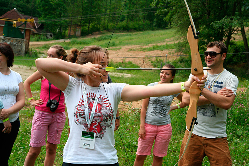 """Archery ~ (photo 3) ~ Resort """"Voevodino"""", Carpathians, Transcarpathia, (voevodyno.com)"""