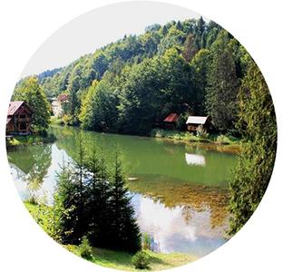 Озеро Віта в селі Нижній Студений